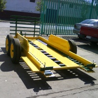 carro cosechero porta pallets o bins