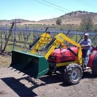 Cargador frontal para tractor