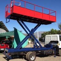 Plataforma para camión